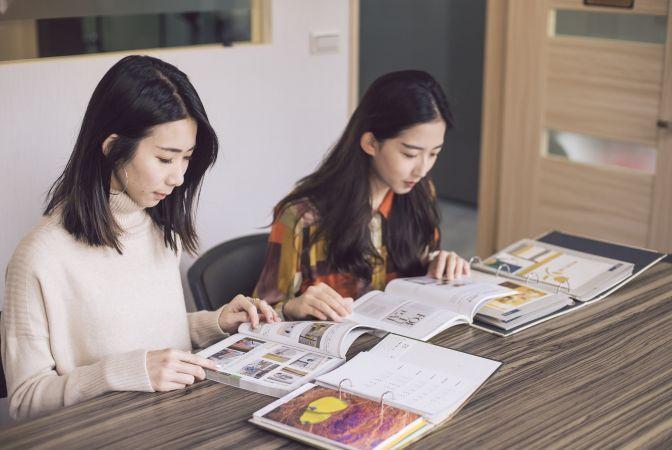 台中學院平面設計班校外參訪-前進美術印刷廠認識印製實務