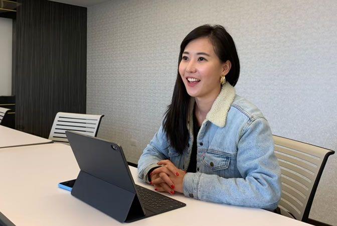 微電影運鏡課程學員專訪-蔡婷宇,用影像捕捉每一個精彩的畫面。