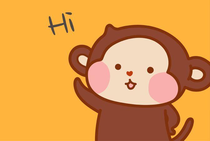 赫綵明星卡樂猴,全新貼圖全新亮相。